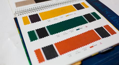 Catálogo color textil